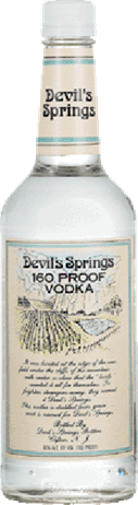 Devils Springs Vodka 160 Proof